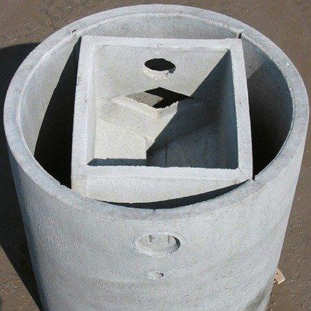Vasca Imhoff monolitica ø cm 100×146h
