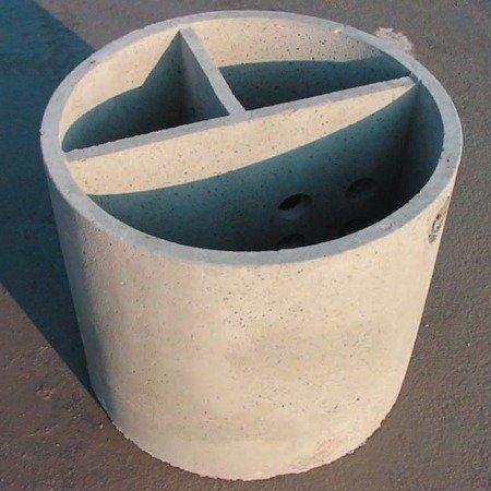 Vasca condensagrassi monolitica ø cm 100×100h