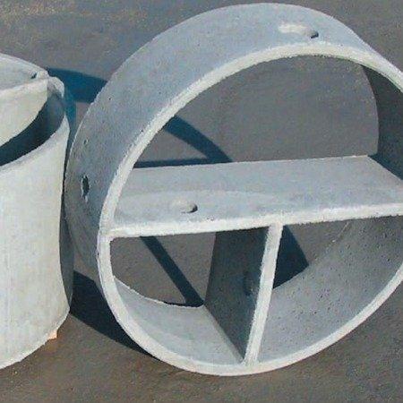 Vasca condensagrassi monolitica ø cm 150×100h