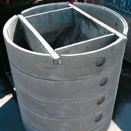 Vasca Imhoff modulare circolare ø cm 234×250h