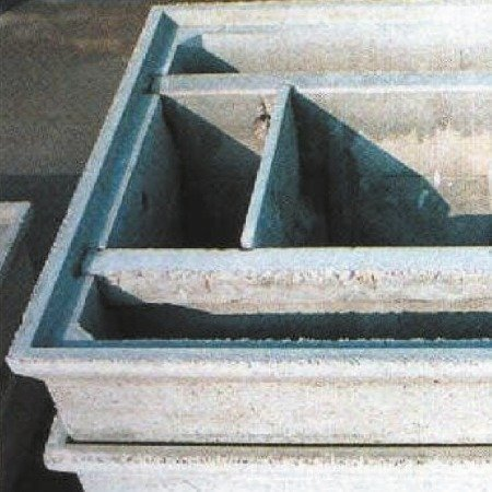 Vasca Imhoff modulare rettangolare cm 300x200x250h