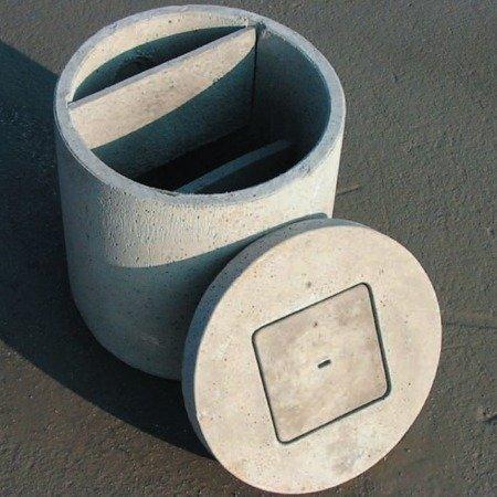 Vasca condensagrassi monolitica ø cm 60×70h