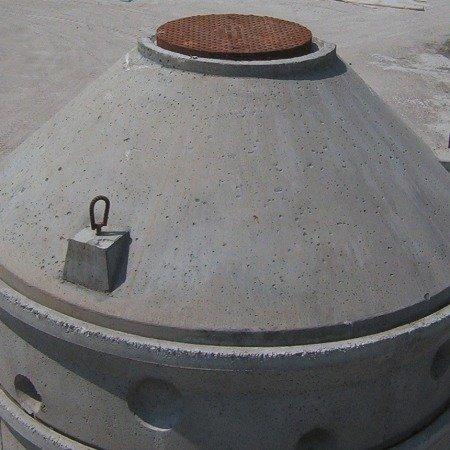 Coperchio tronco conico per anello ø cm 200