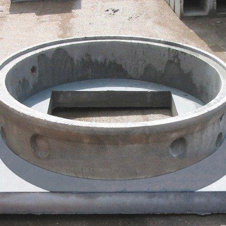 Basamenti per anelli forati