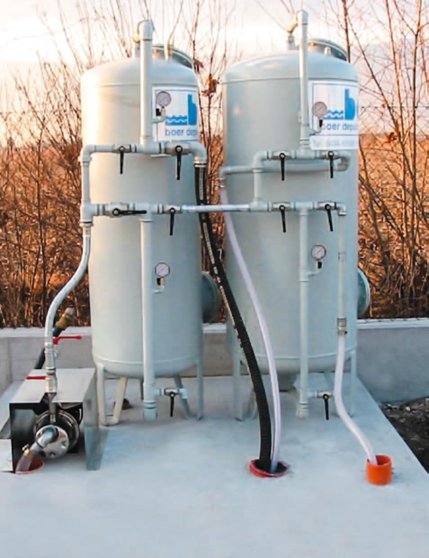 Impianti di filtrazione quarzite e carbone