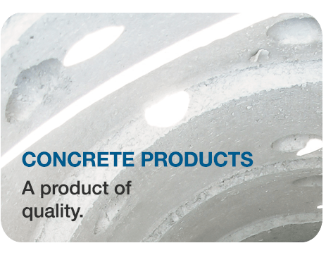 Concrete products, A product of quality