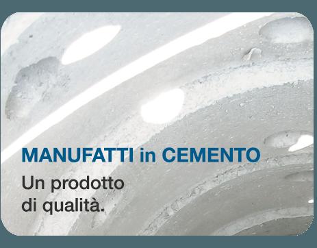 Manufatti in cemento, un prodotto di qualità