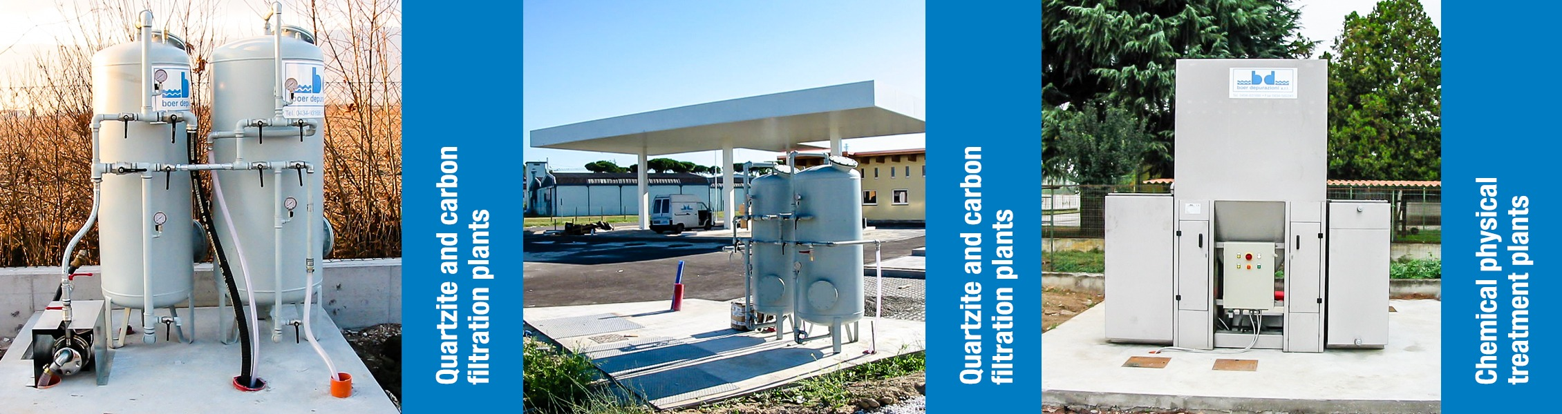 Boer Group SRL, Concrete products and water treatments plants