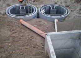n. 2 vasche di disoleazione a doppia camera
